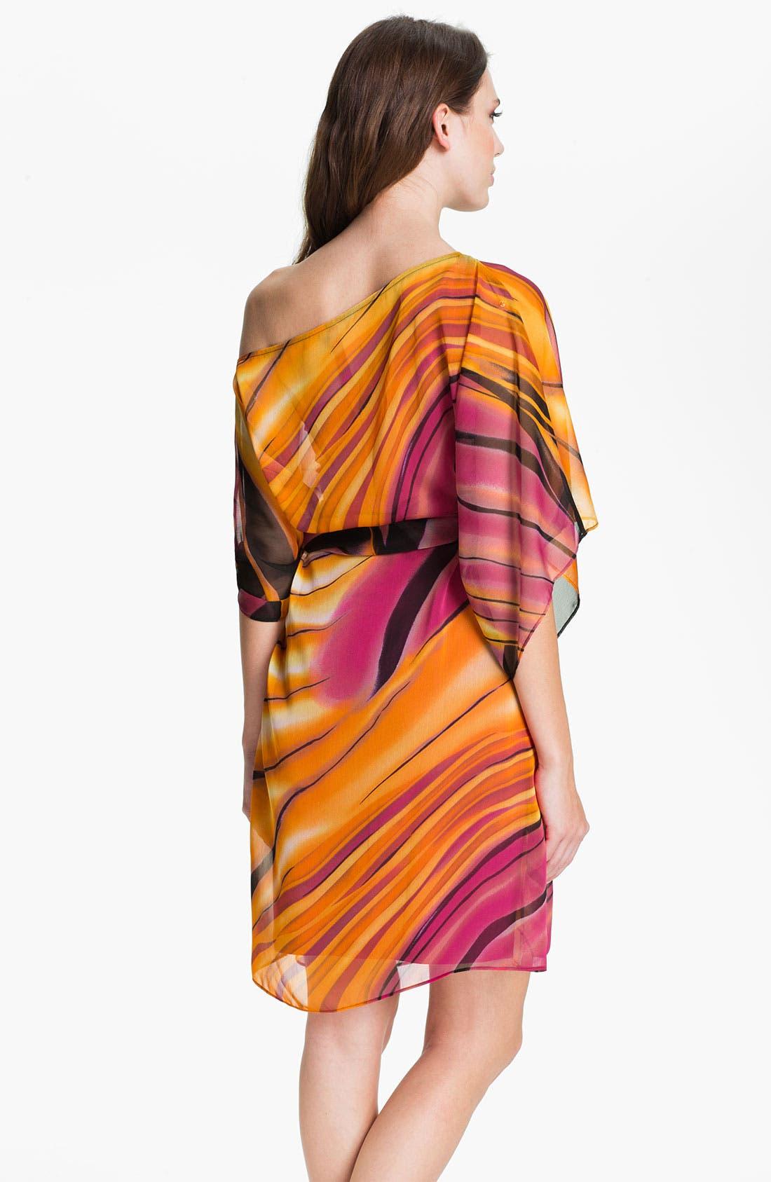 Alternate Image 2  - Abi Ferrin 'Nicola' Convertible Chiffon Dress