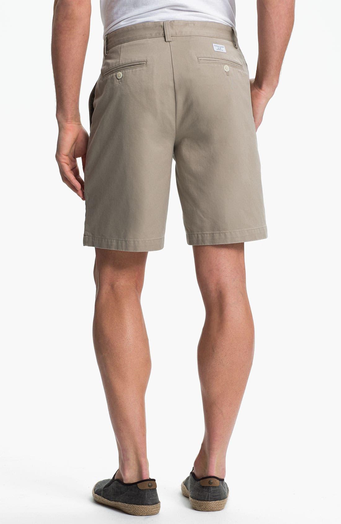 Alternate Image 2  - Vineyard Vines 'Club' Flat Front Twill Shorts