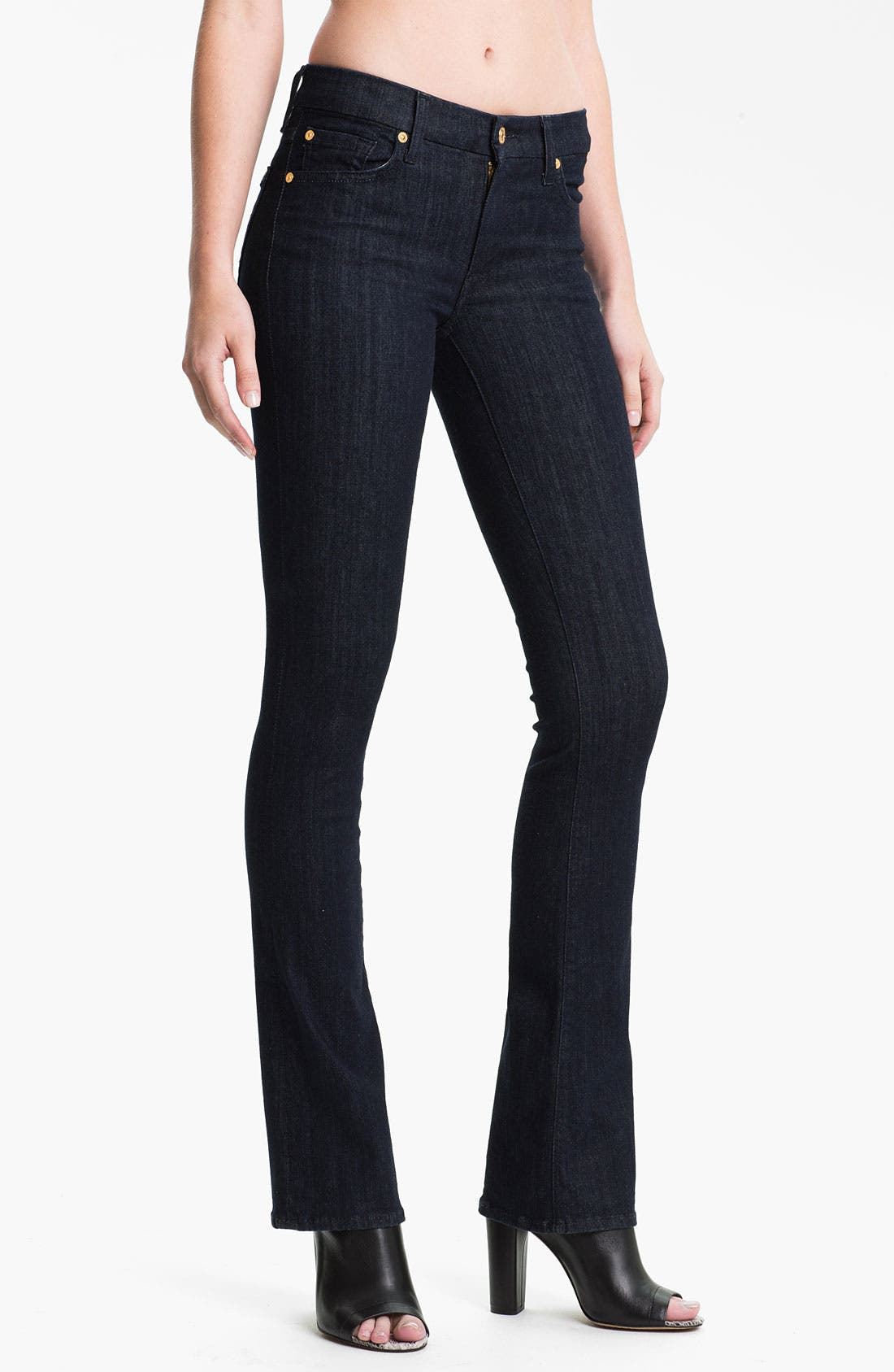 Alternate Image 1 Selected - 7 For All Mankind® 'Kimmie' Bootcut Jeans (Slim Illusion Rinse)