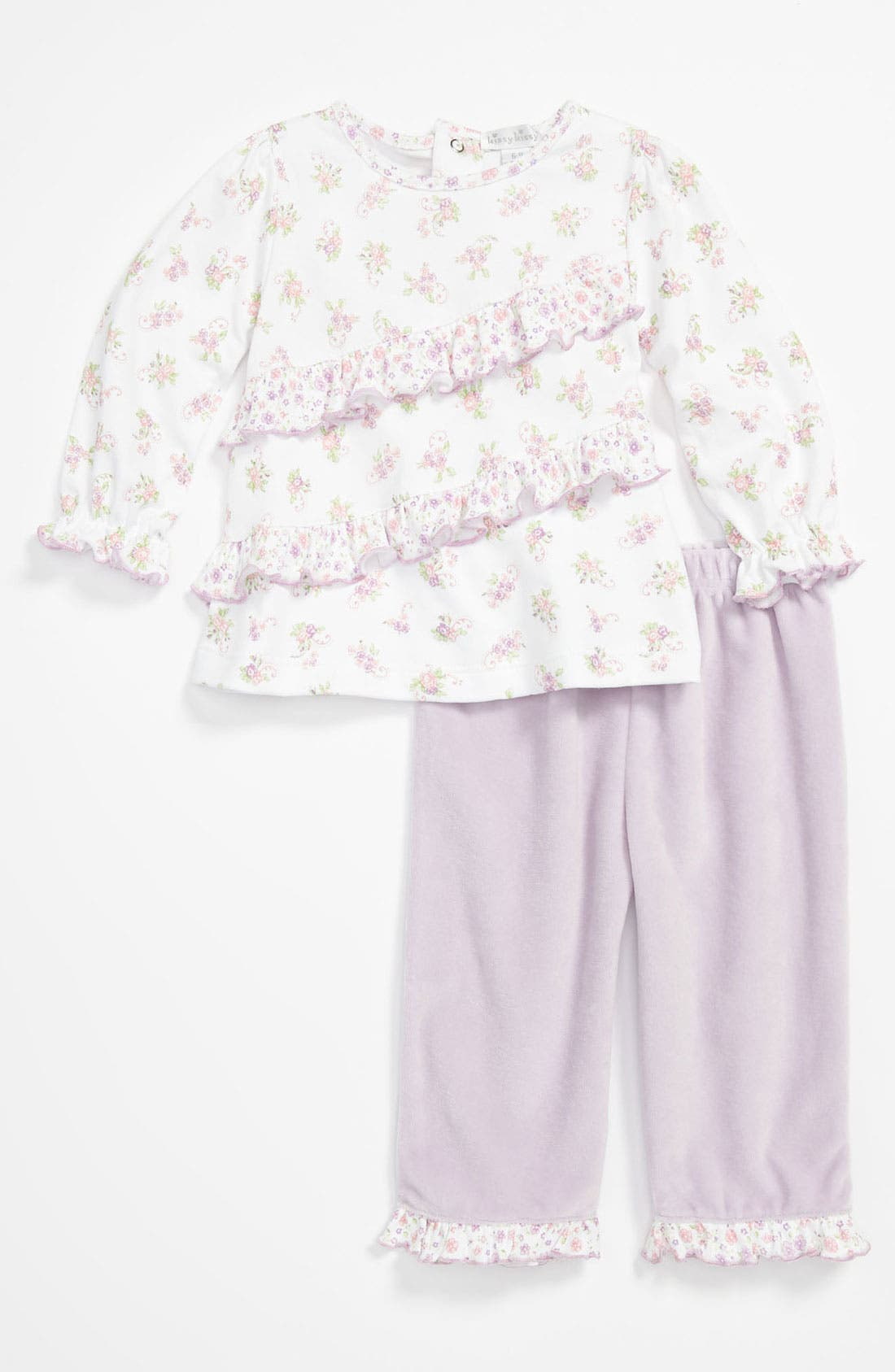 Alternate Image 1 Selected - Kissy Kissy Top & Pants (Infant)
