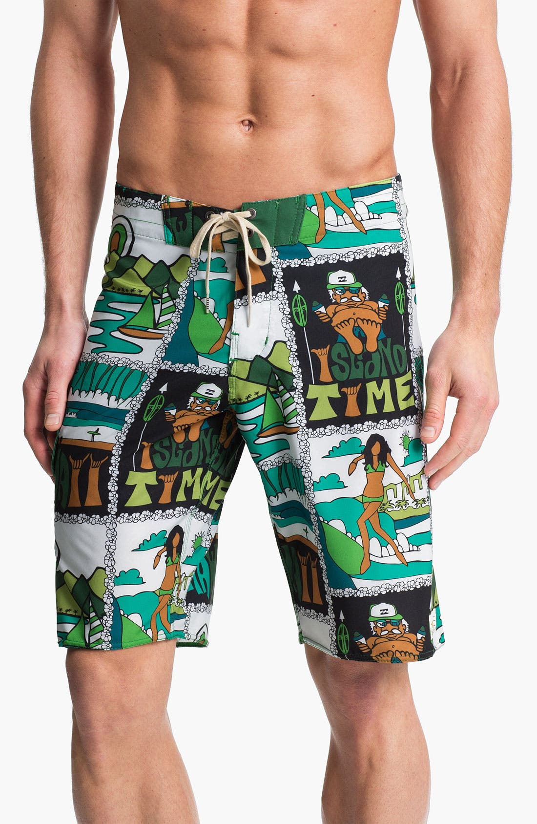 Alternate Image 1 Selected - Billabong 'Ad Postcard' Board Shorts (Online Exclusive)