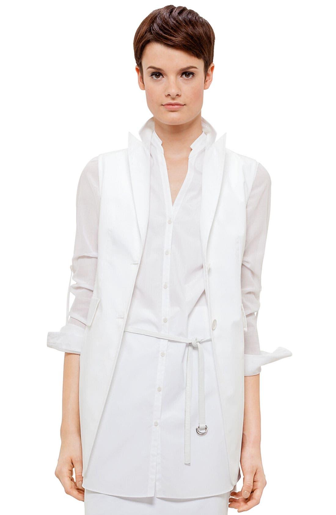 Main Image - Akris punto Lace Back Vest