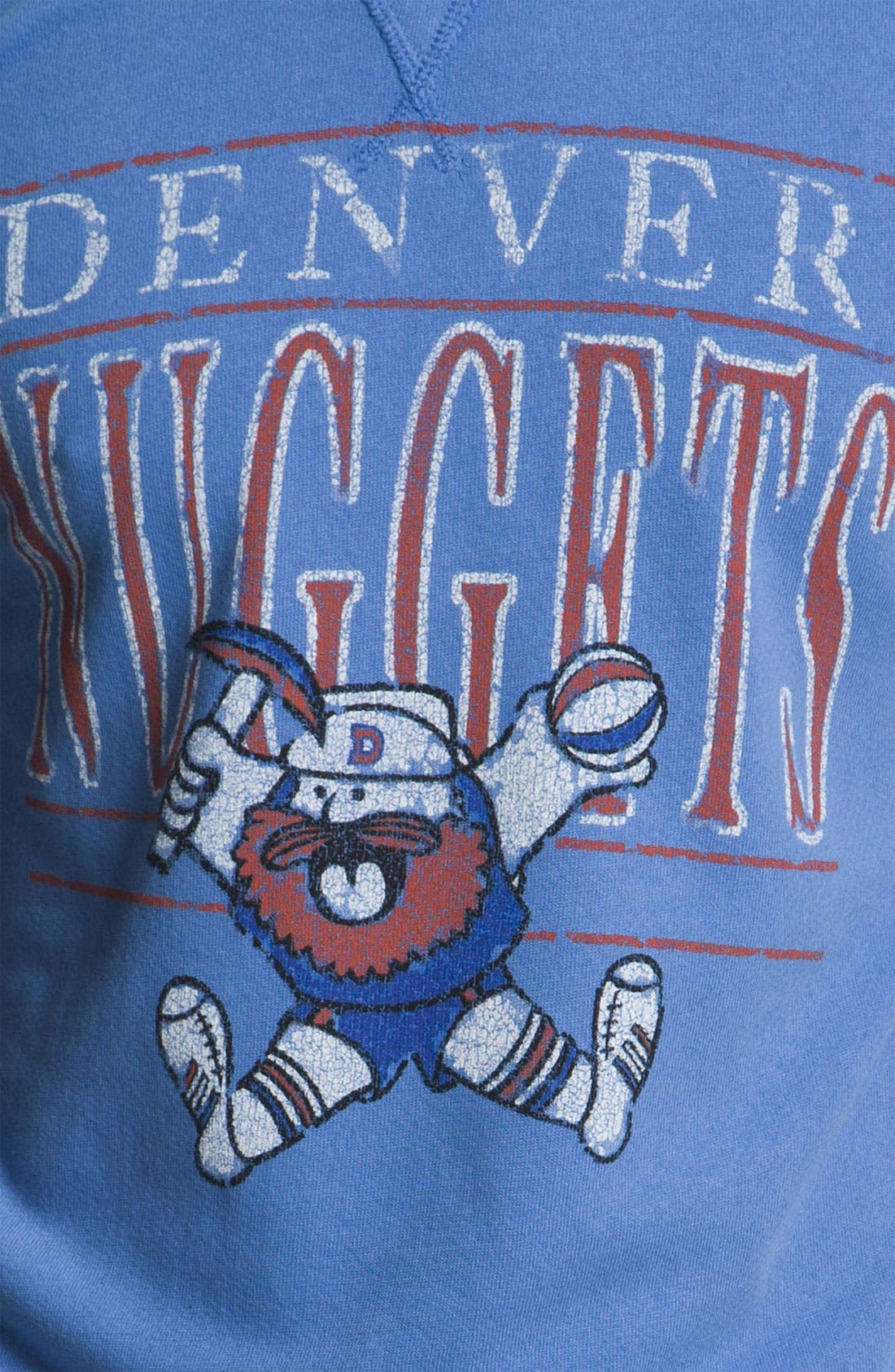 Alternate Image 3  - Junk Food 'Denver Nuggets' Sweatshirt