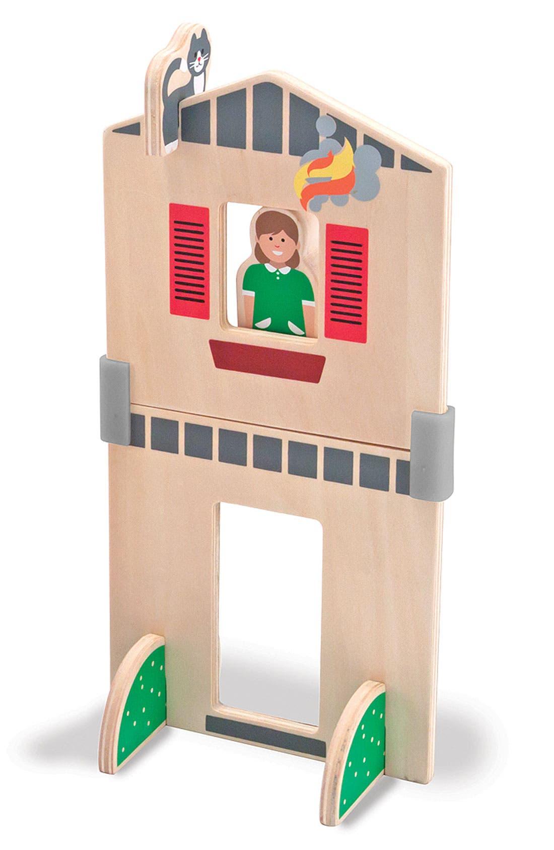Alternate Image 3  - Melissa & Doug 'Whittle World - Fire Rescue' Wooden Toy