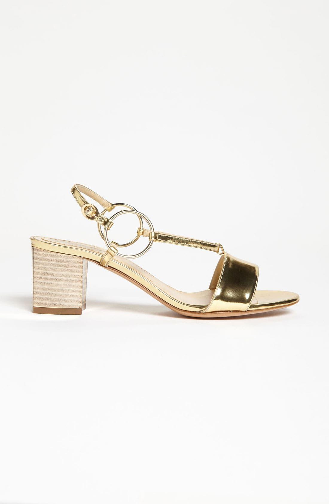 Alternate Image 4  - Pollini Metallic Mid Sandal
