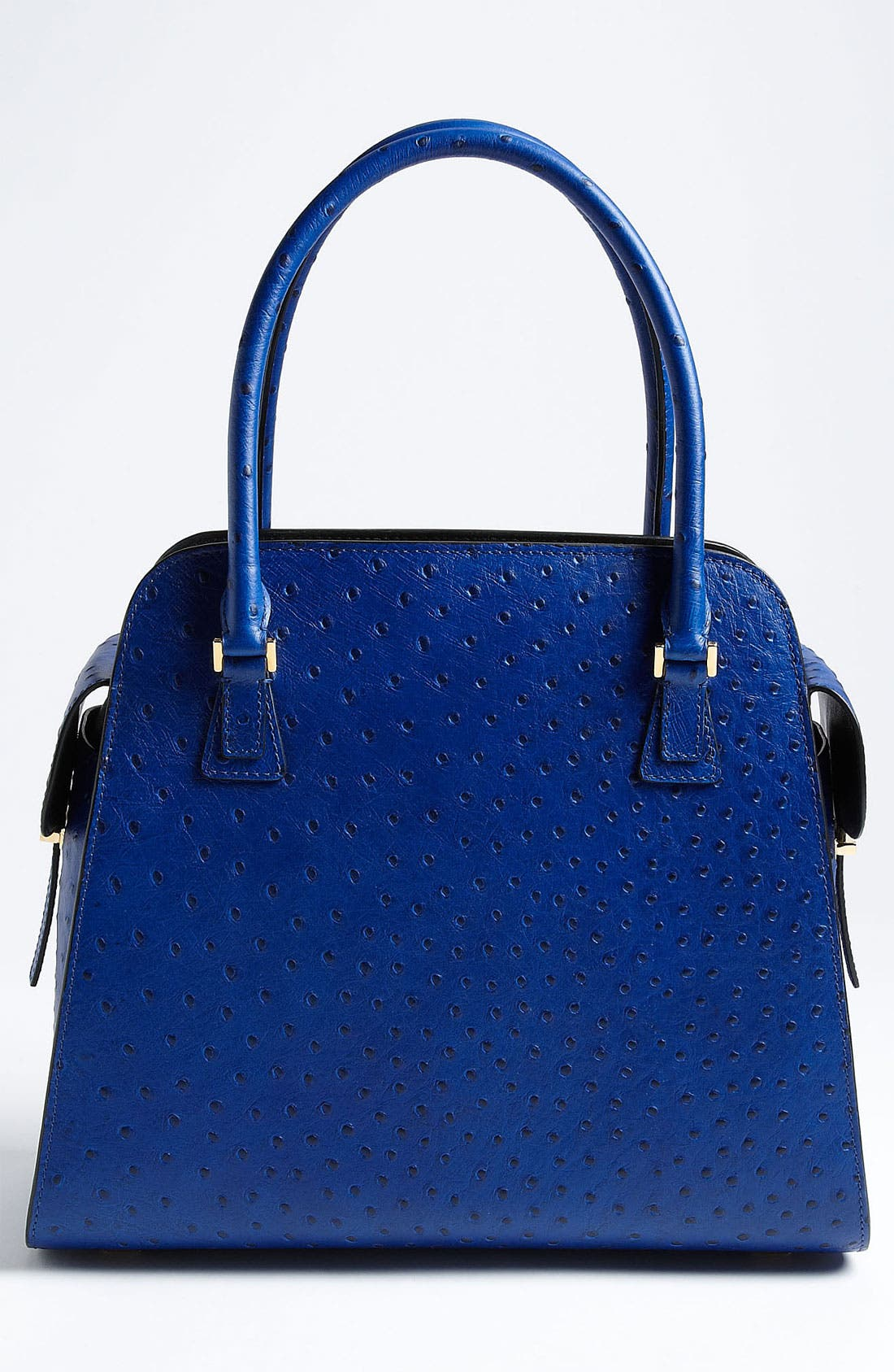 Alternate Image 4  - Michael Kors 'Gia' Ostrich Embossed Satchel