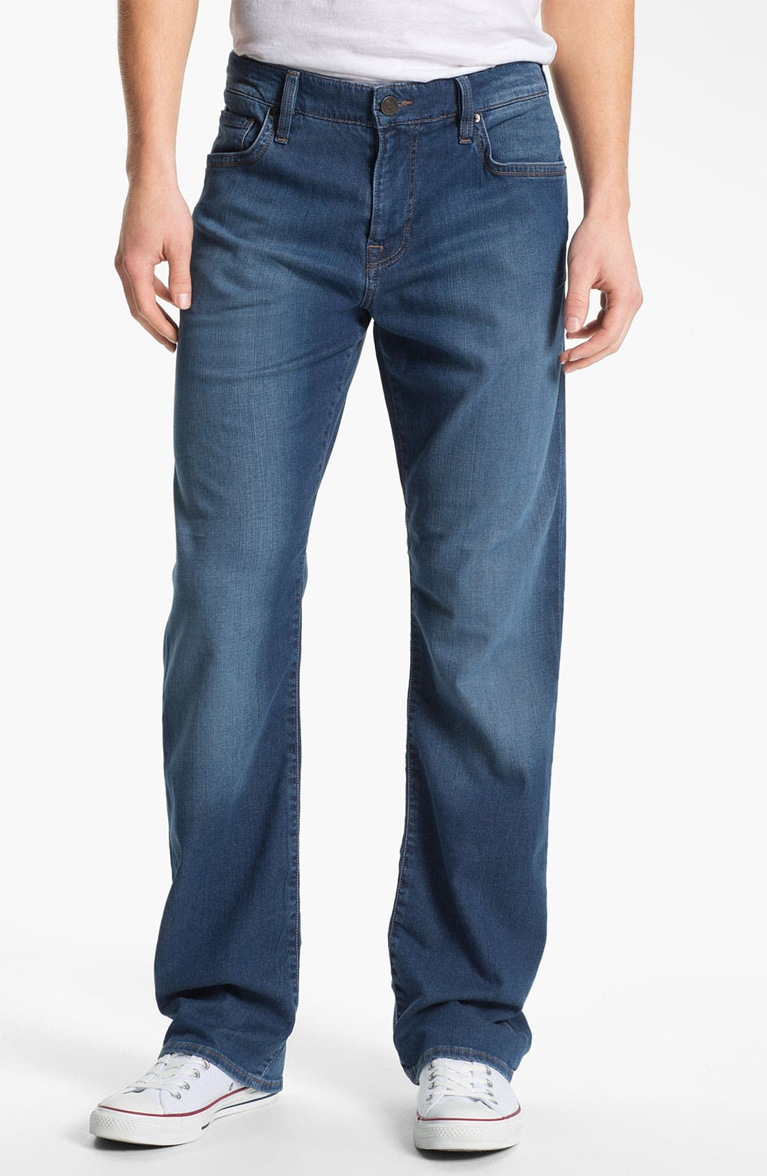 Alternate Image 1 Selected - 34 Heritage 'Courage' Straight Leg Jeans (Mid Cashmere) (Online Exclusive)