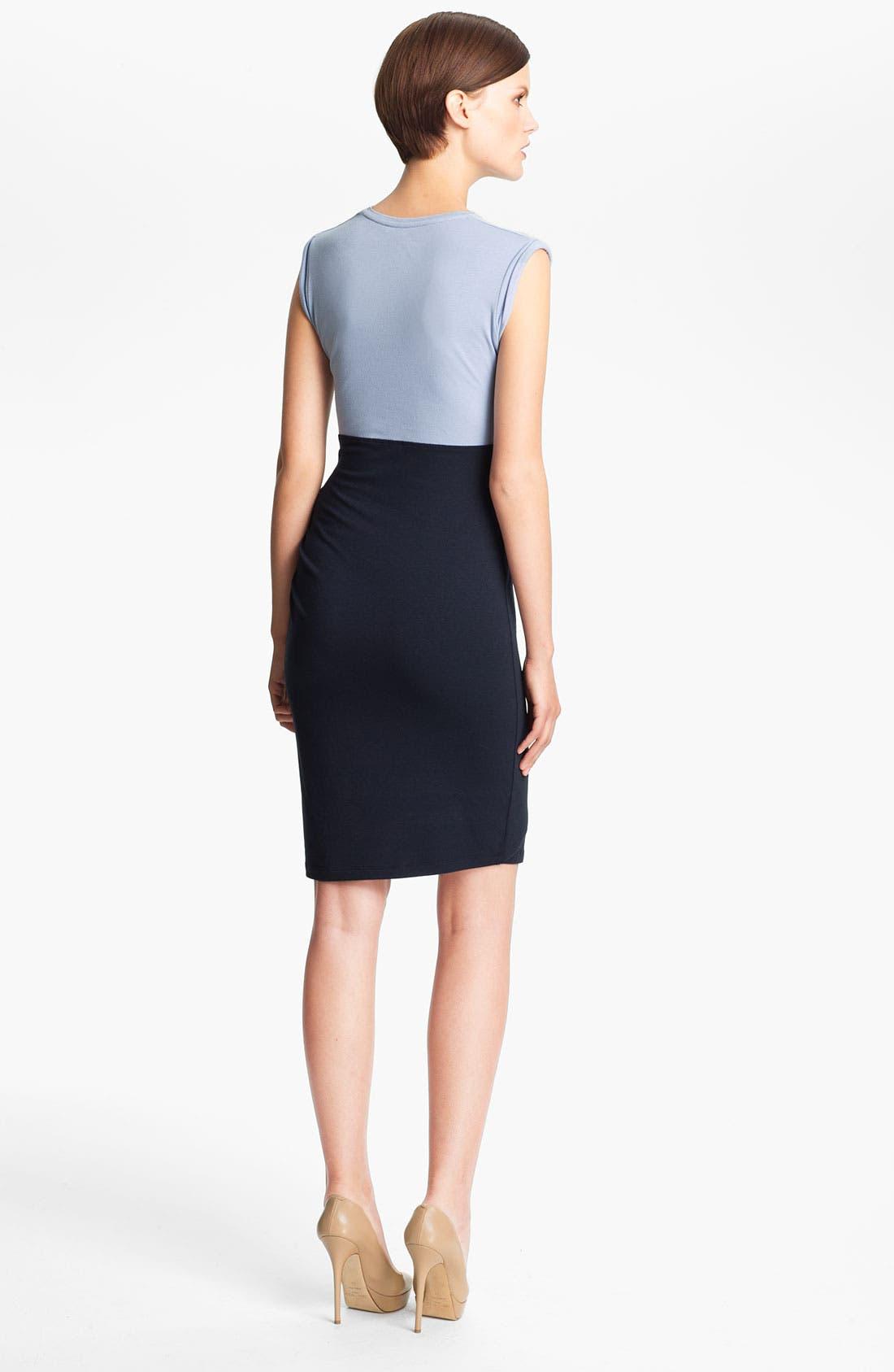 Alternate Image 2  - Carven Twist Top Dress