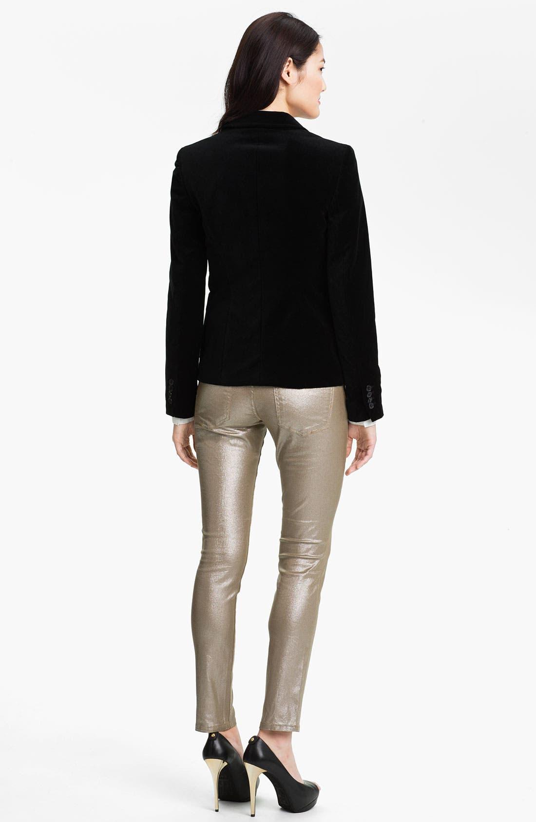 Alternate Image 5  - Anne Klein Poplin Shirt