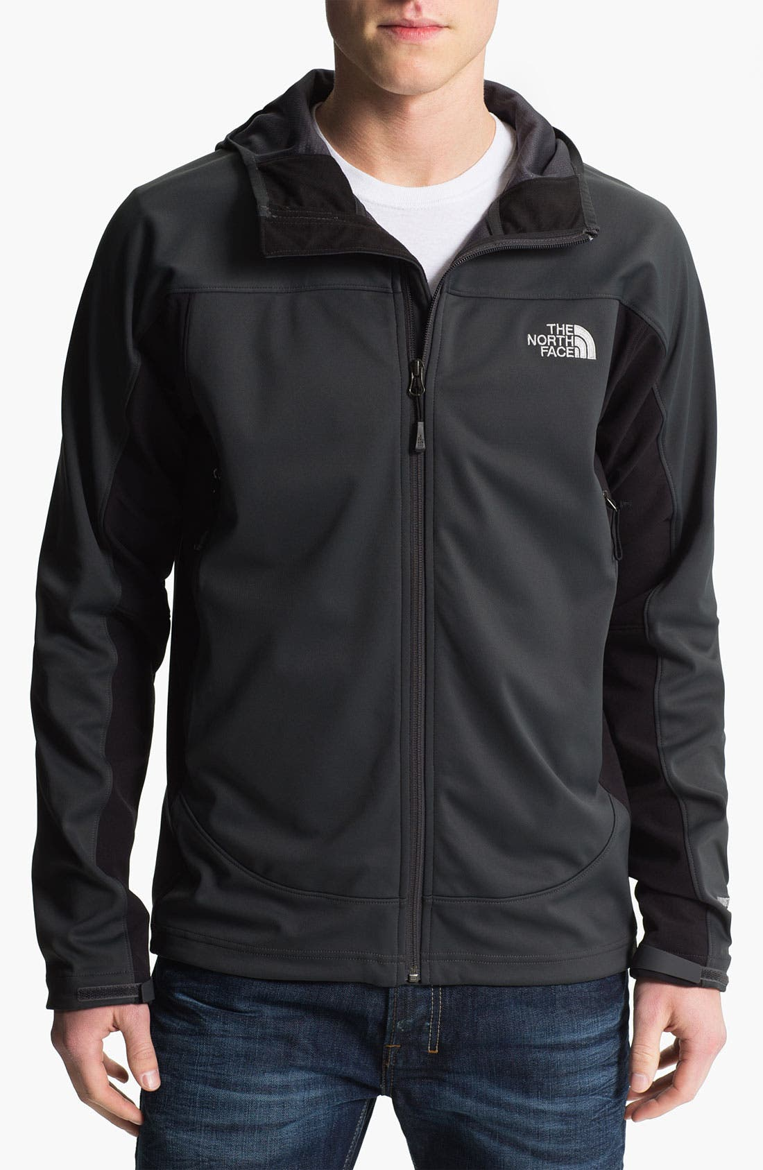 Alternate Image 1 Selected - The North Face 'Cipher Hybrid' Zip Hoodie