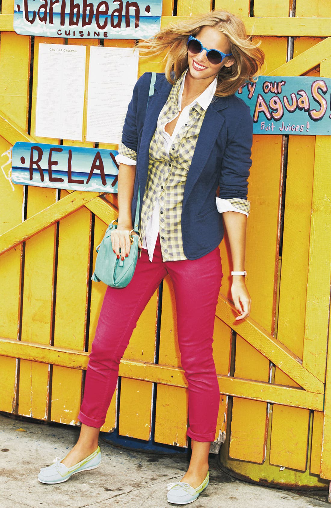 Alternate Image 6  - Wit & Wisdom Color Skinny Jeans (Nordstrom Exclusive)