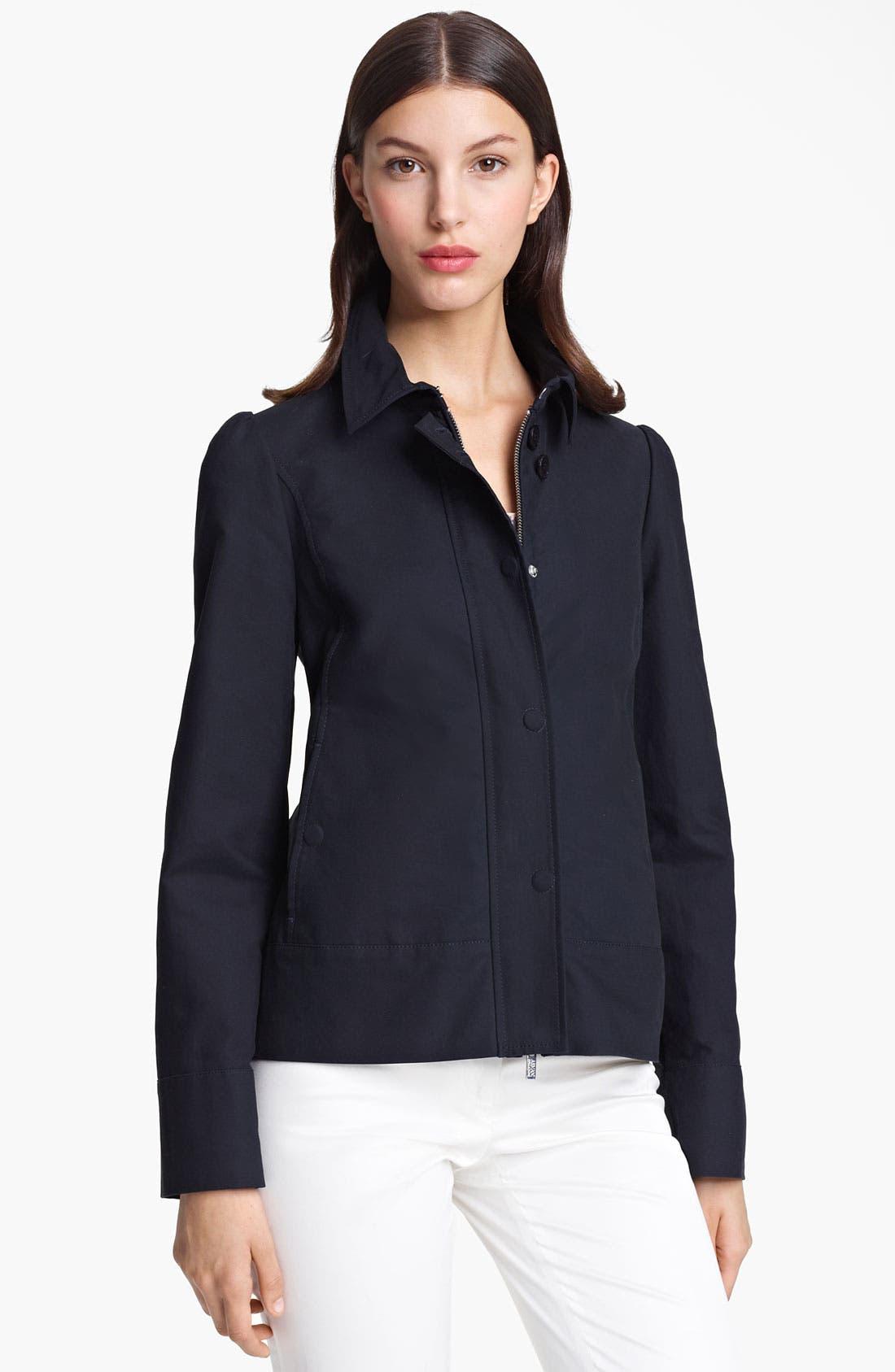 Alternate Image 1 Selected - Armani Collezioni Cotton Jacket