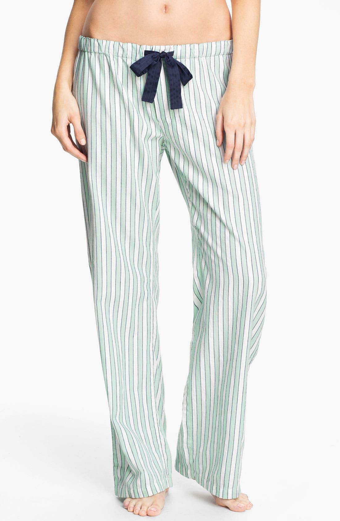 Alternate Image 1 Selected - PJ Salvage 'Eye Candy' Stripe Knit Lounge Pants