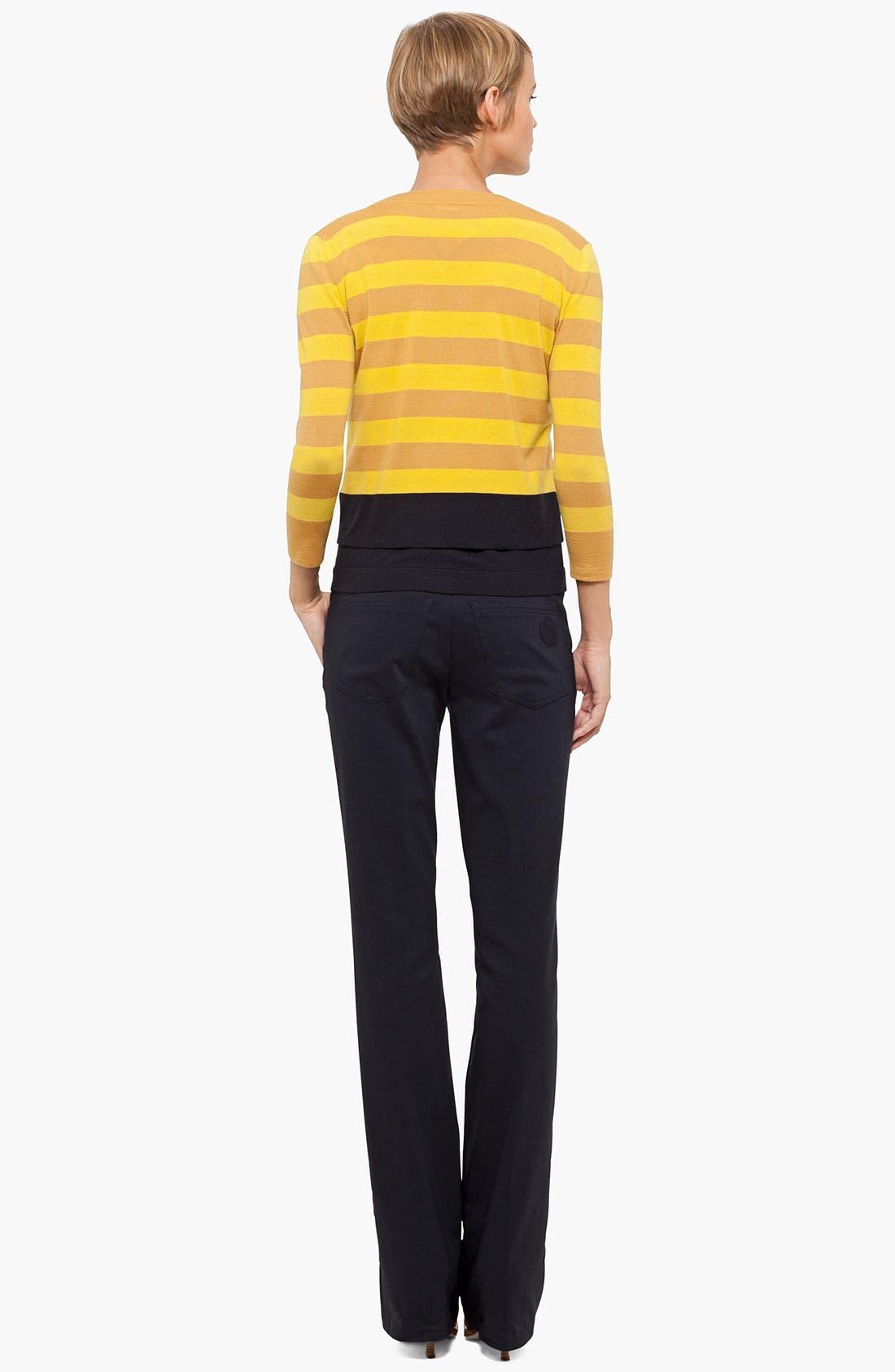 Alternate Image 3  - Akris punto Stripe Wool Sweater