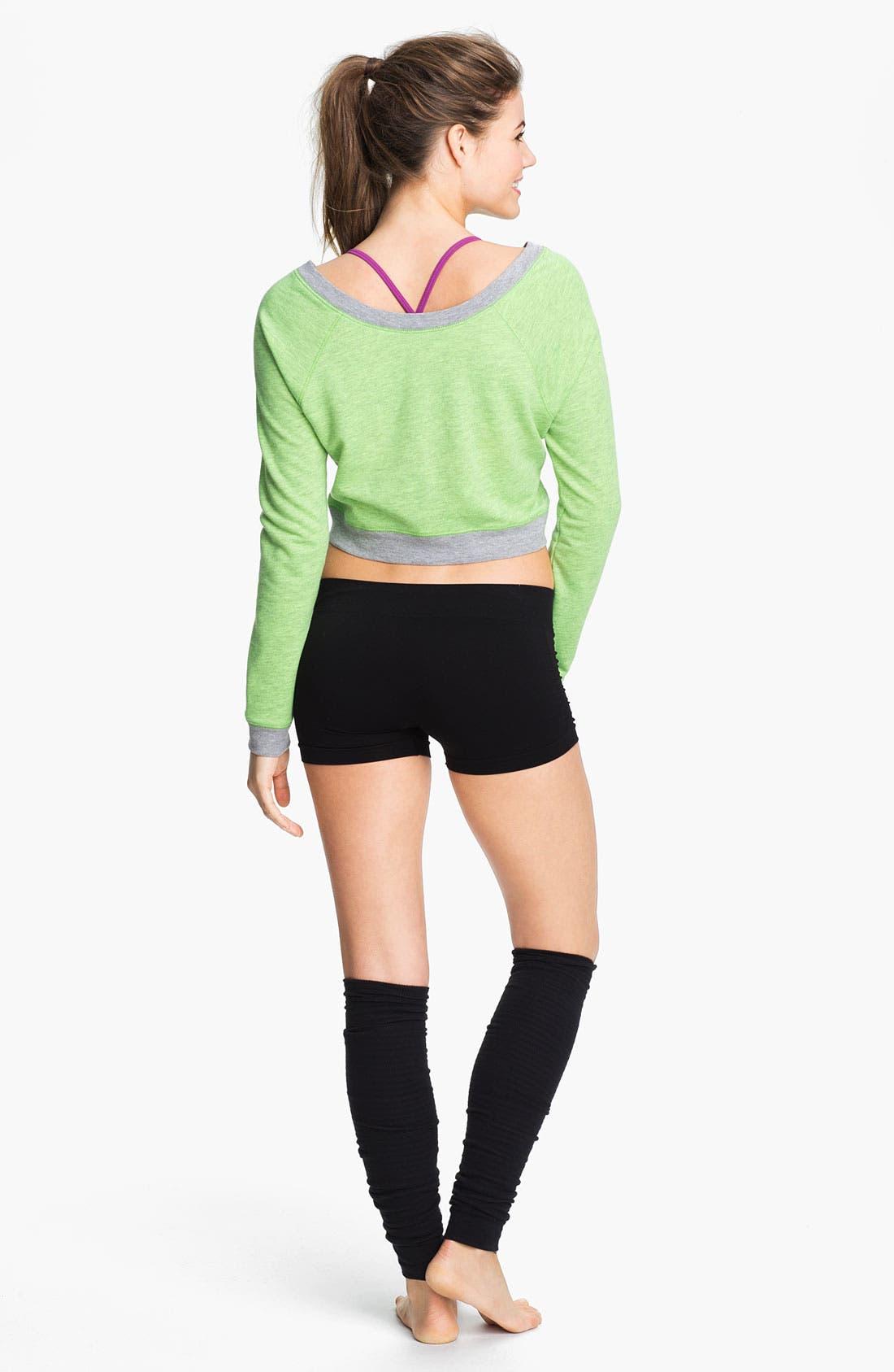 Alternate Image 4  - Unit-Y 'Hot' Ruched Shorts