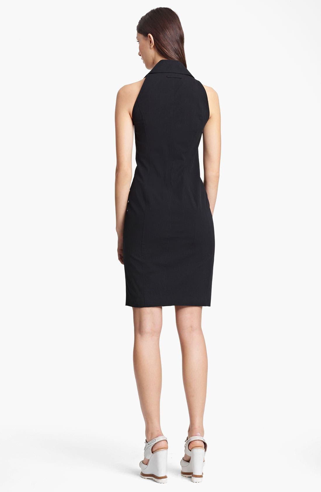 Alternate Image 2  - Jean Paul Gaultier Zip Detail Gabardine Dress