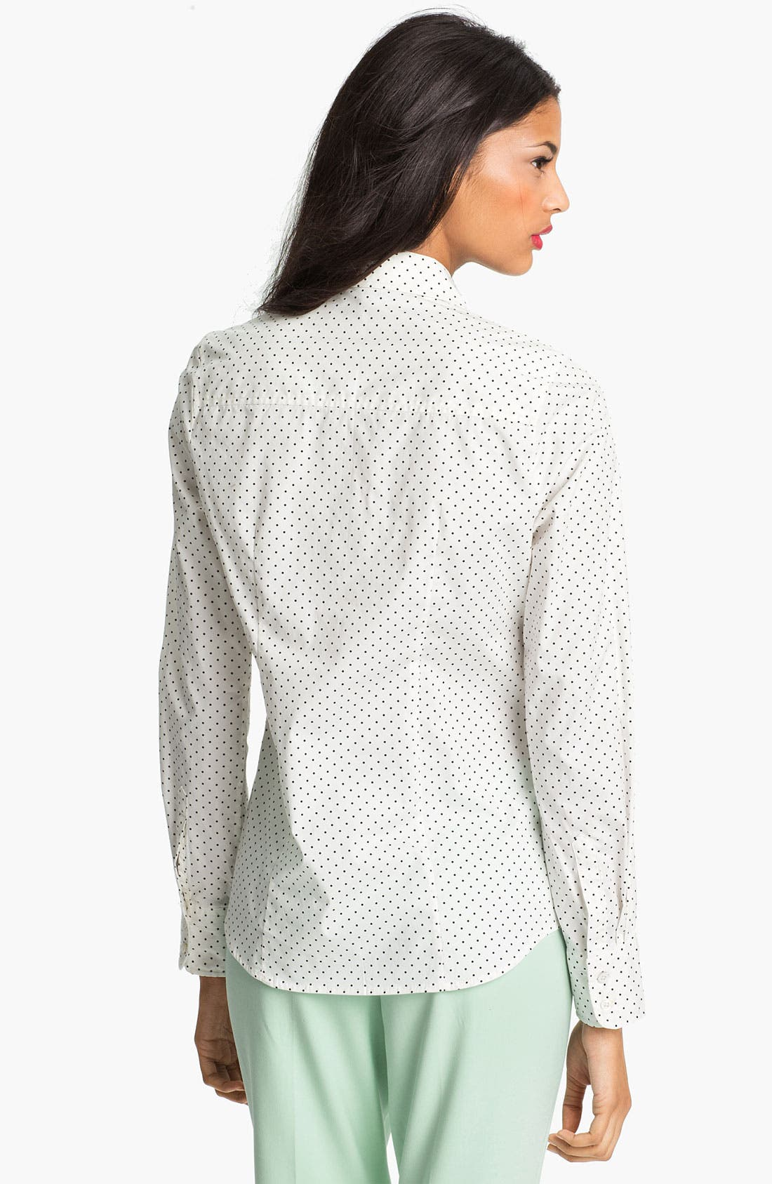 Alternate Image 2  - Current Affair Polka Dot Shirt
