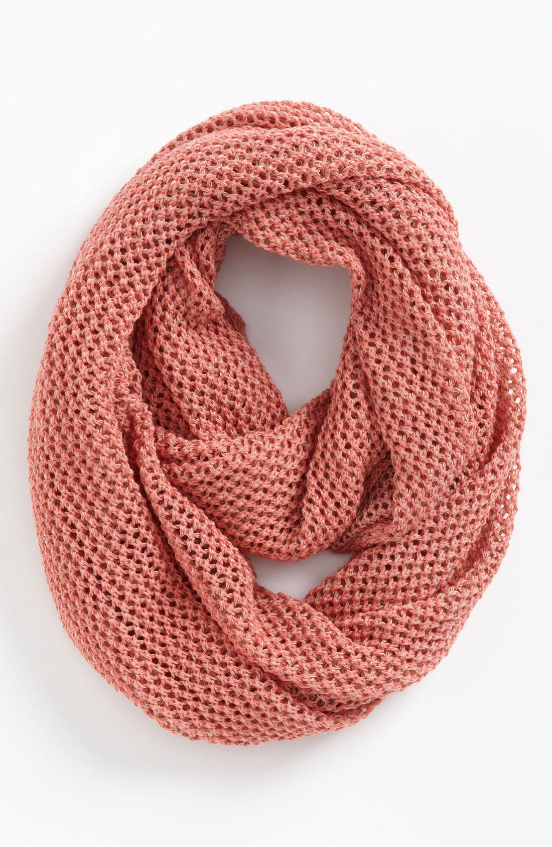 Main Image - Trouvé Textural Knit Infinity Scarf