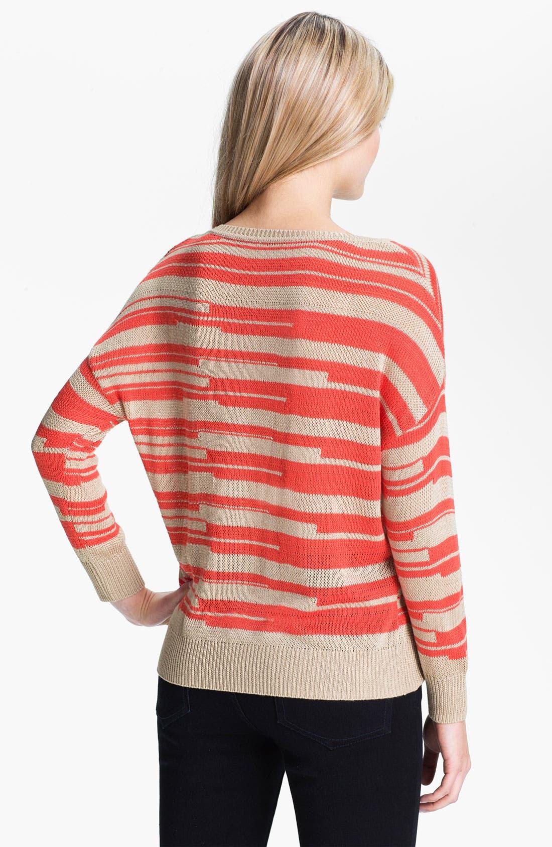 Alternate Image 2  - Amber Sun 'Lily' Stripe Sweater