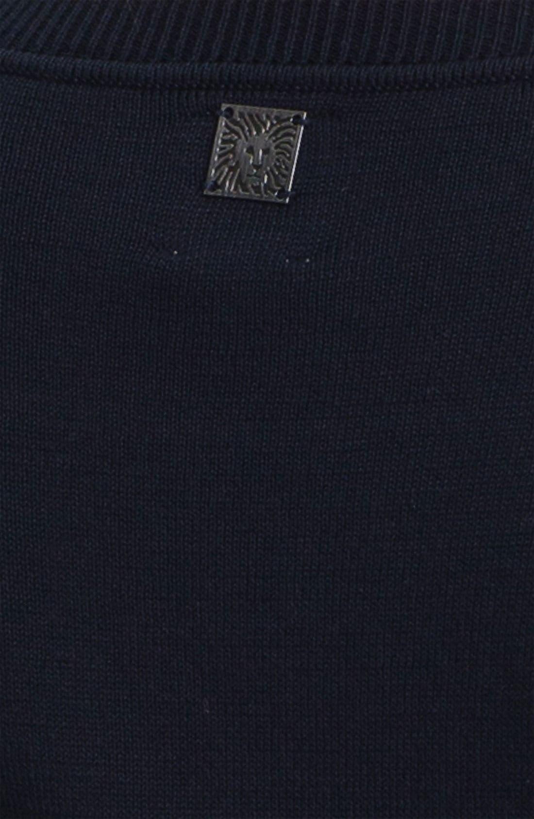 Alternate Image 3  - Anne Klein Metallic Print Sweater