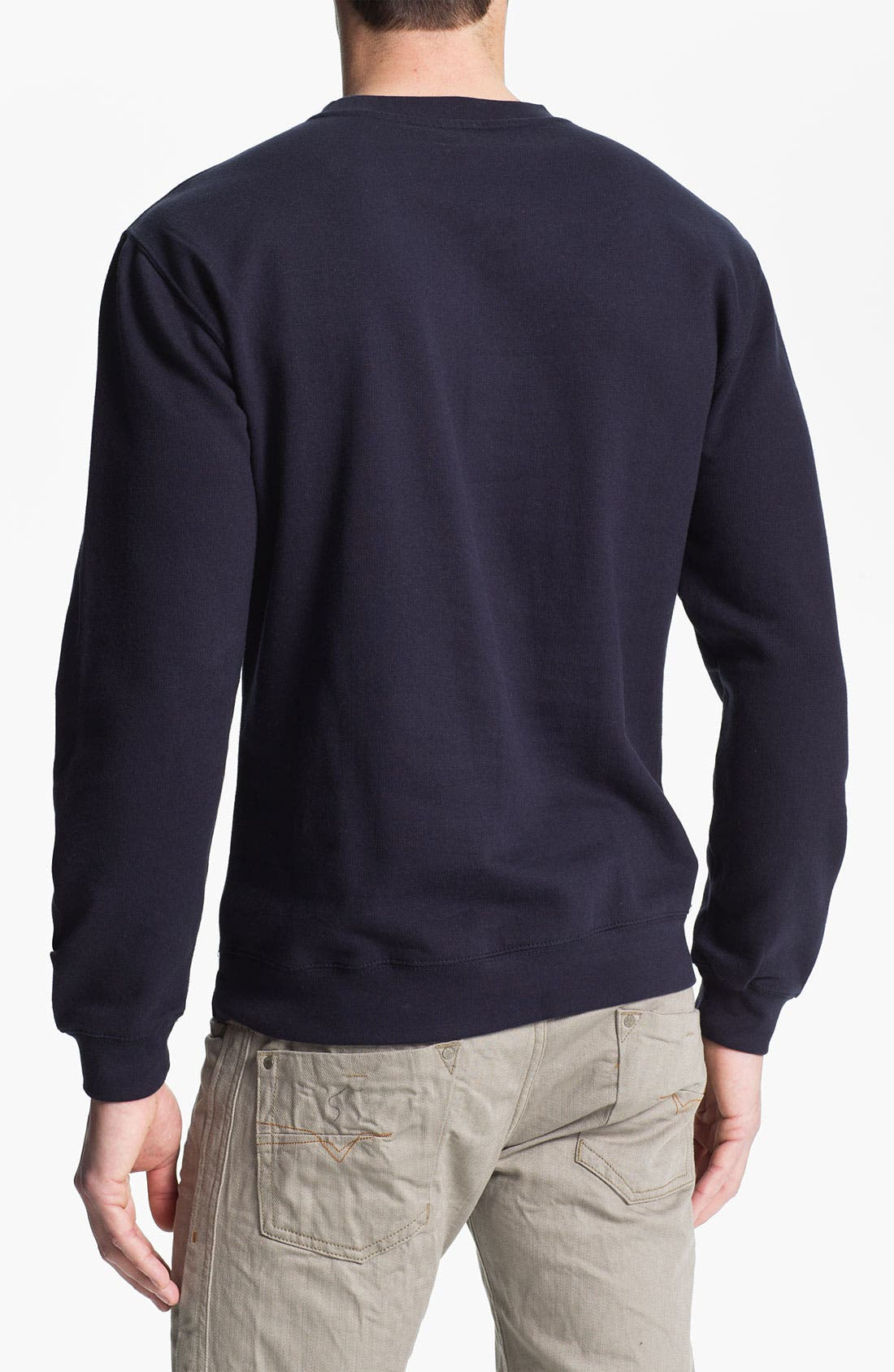 Alternate Image 2  - RVCA 'Korps' Graphic Crewneck Sweatshirt