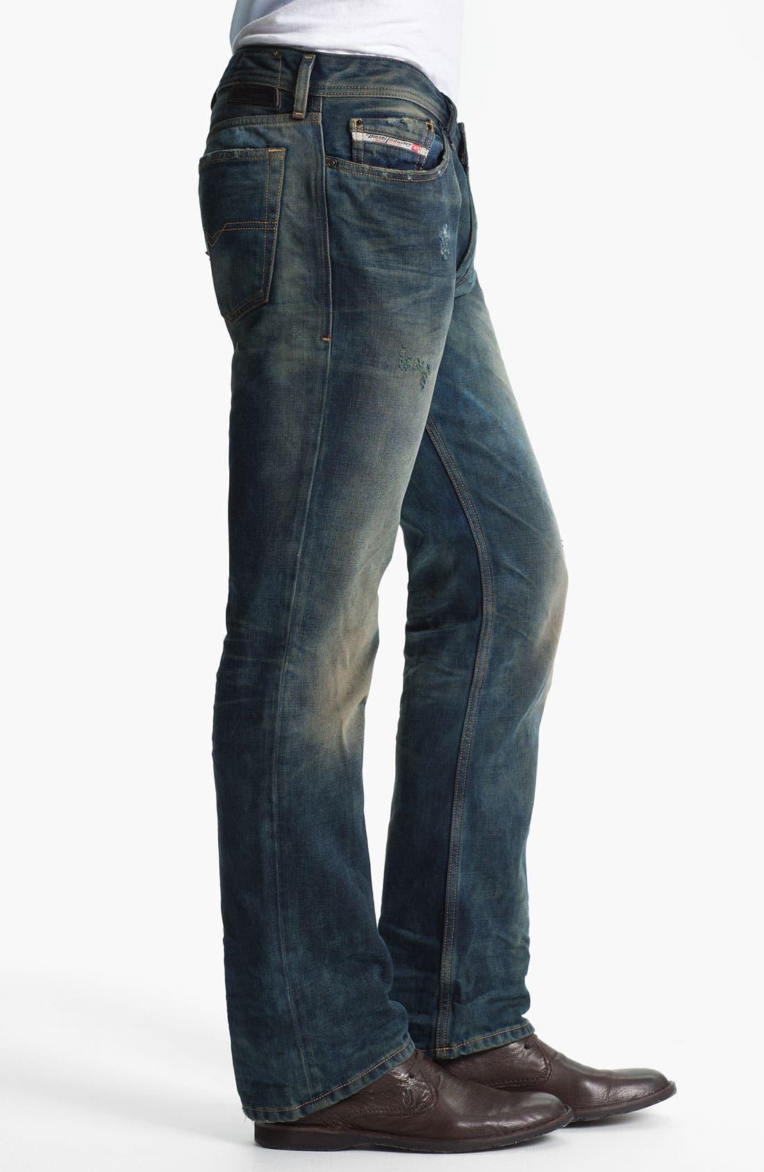 Alternate Image 3  - DIESEL® 'New Fanker' Bootcut Jeans (0075L)