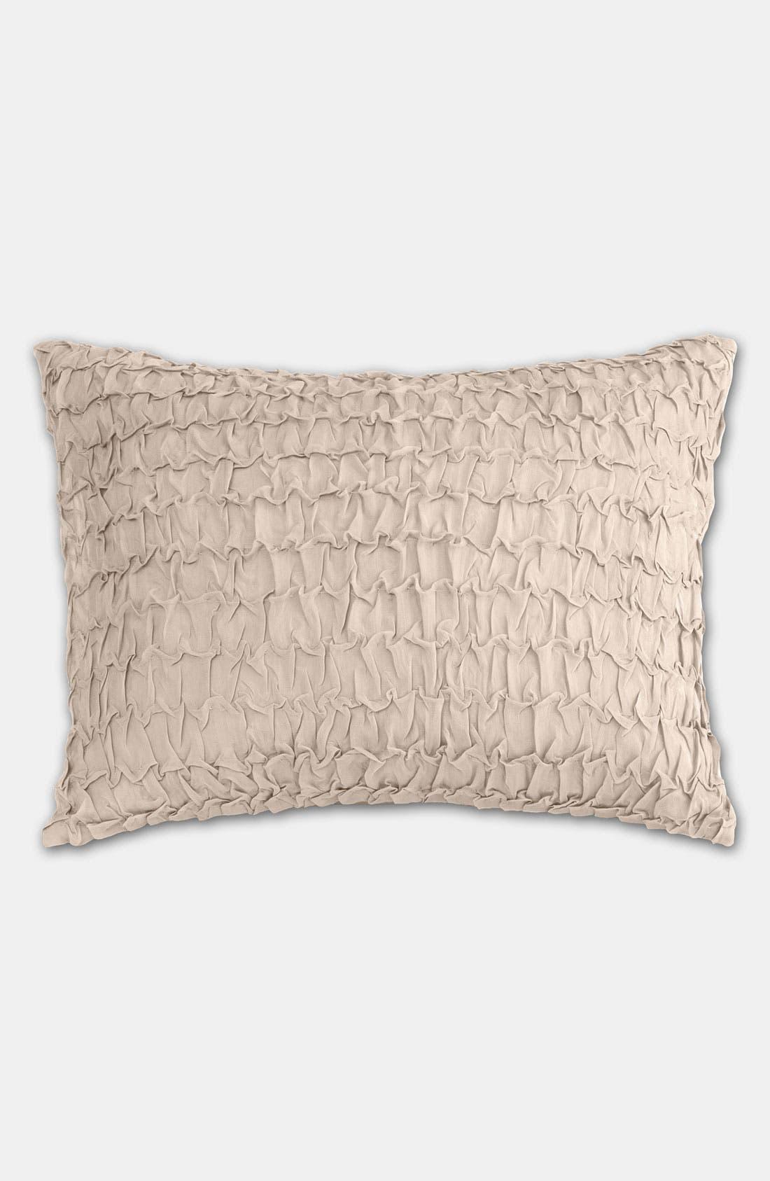 Main Image - Donna Karan Textured Silk Pillow