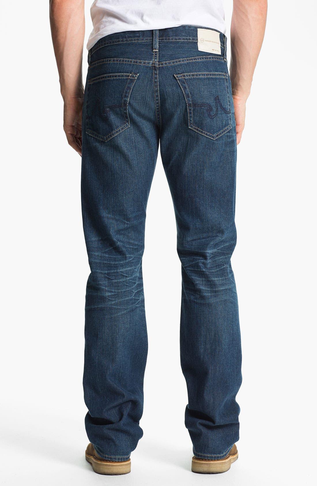 Alternate Image 2  - AG Jeans 'Protégé' Straight Leg Jeans (Thirteen Year Smooth)