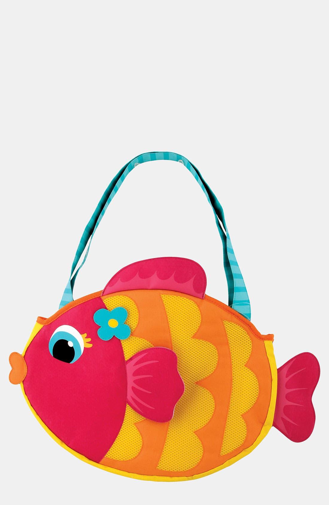 Main Image - Stephen Joseph 'Fish' Beach Tote & Toys