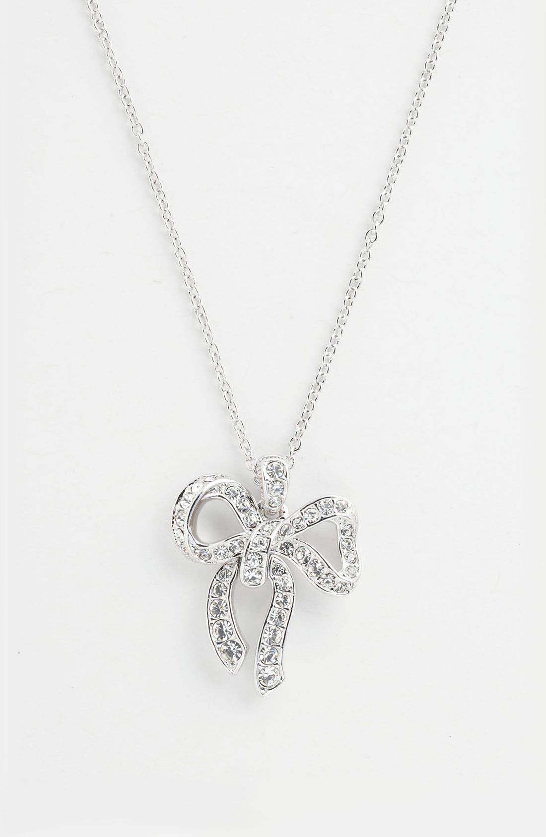 Alternate Image 2  - Nadri Boxed Bow Pendant Necklace (Nordstrom Exclusive)