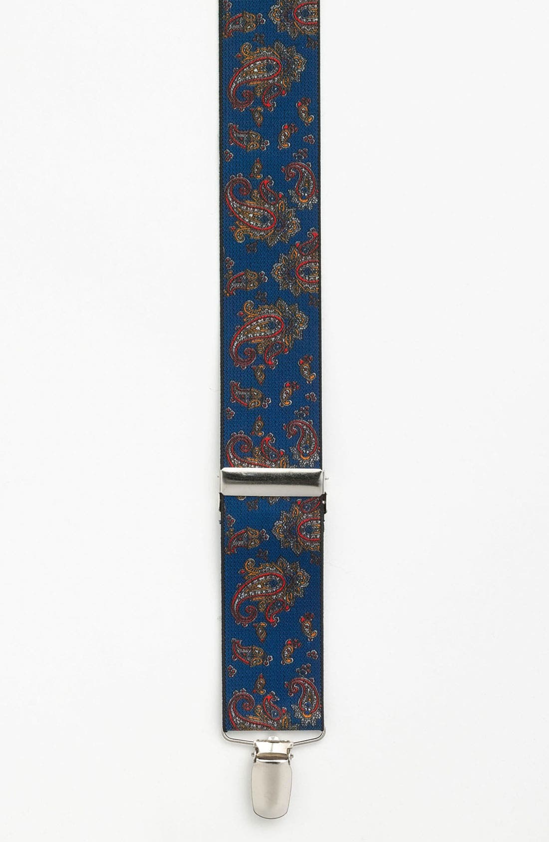 Alternate Image 1 Selected - Topman Paisley Print Suspenders