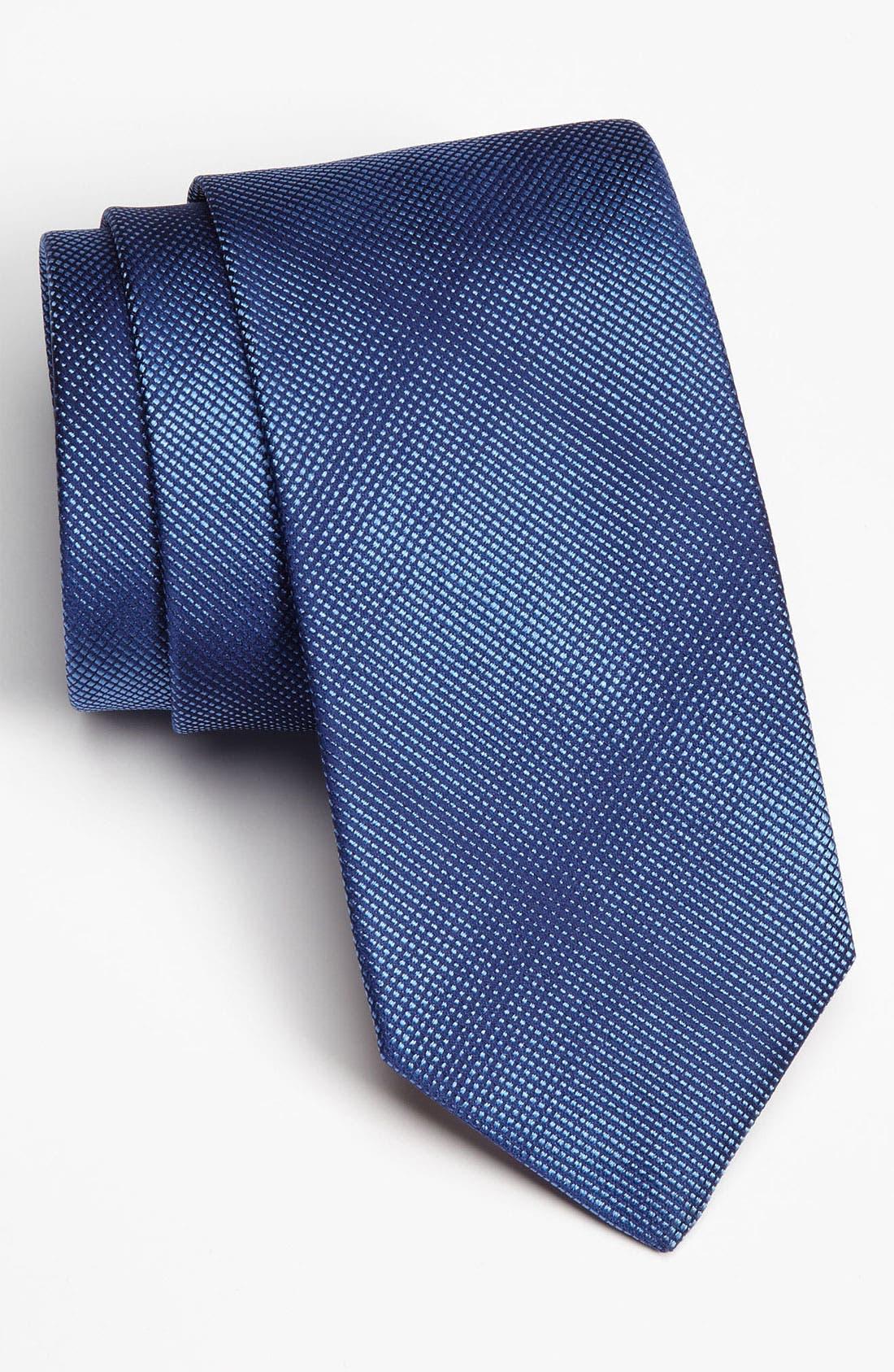 Alternate Image 1 Selected - Thomas Pink Woven Silk Tie