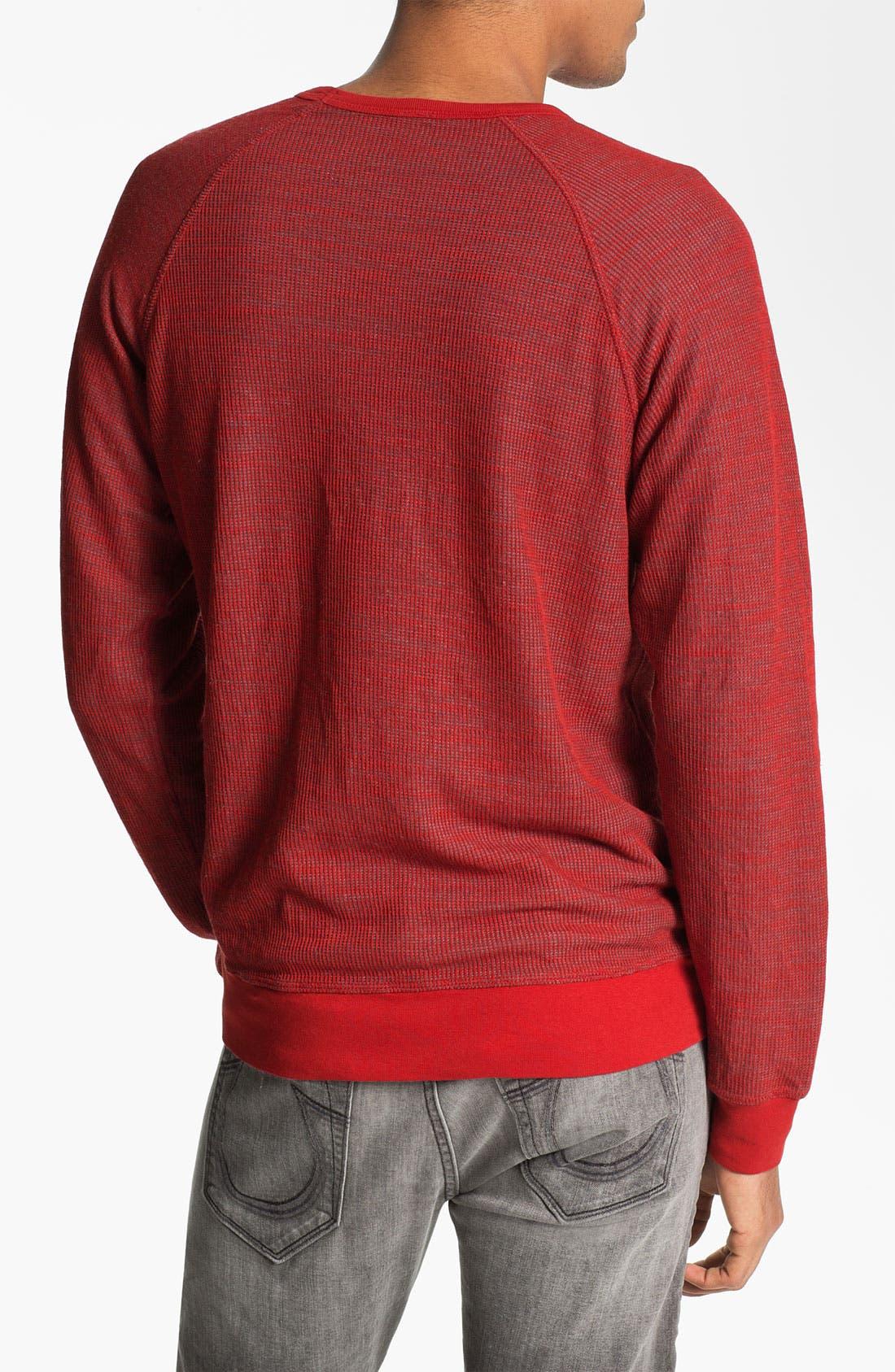 Alternate Image 2  - Splendid Mills Reversible Crewneck Sweatshirt