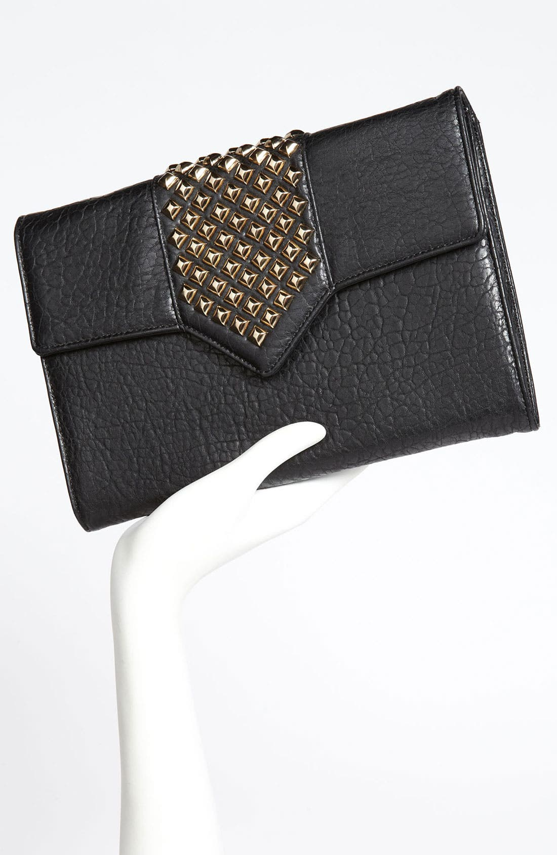 Alternate Image 2  - Top Choice Studded Envelope Clutch