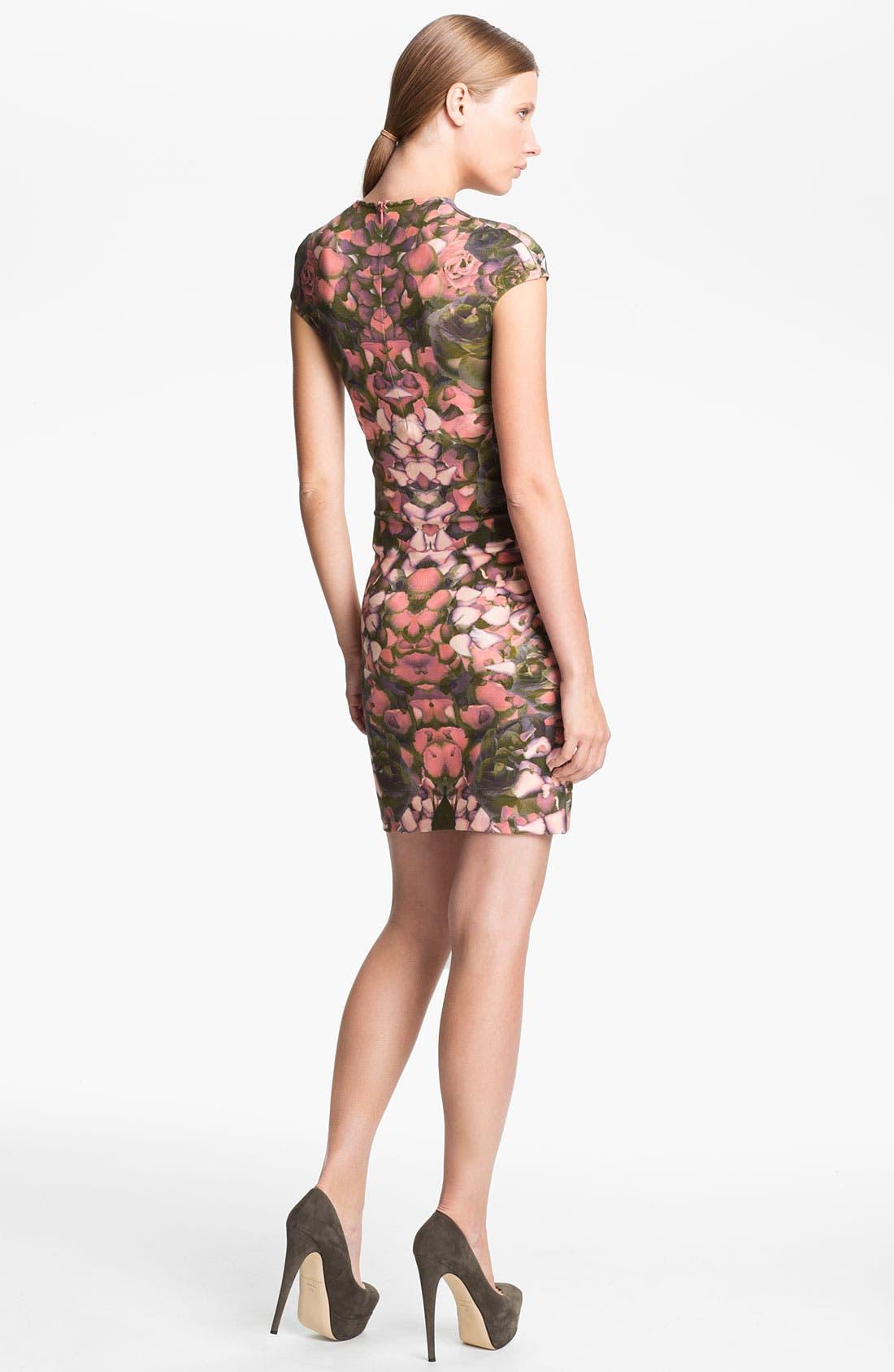 Alternate Image 2  - McQ by Alexander McQueen Cap Sleeve Dress
