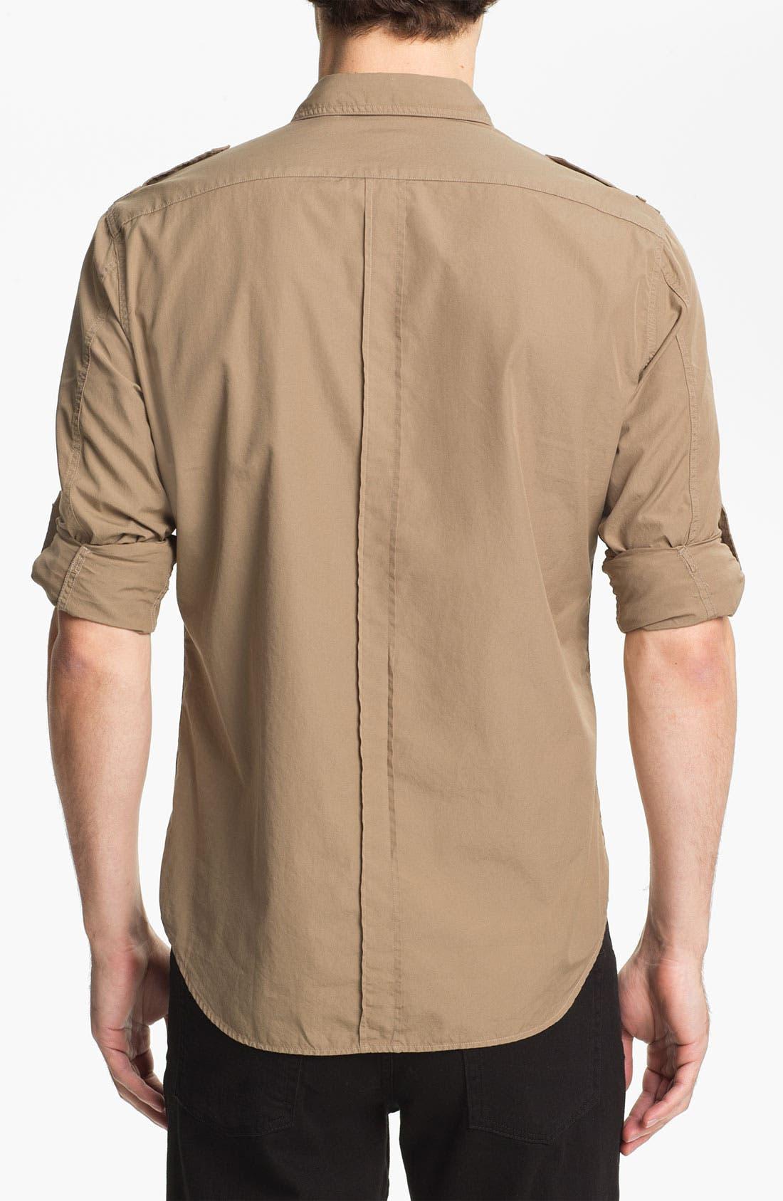 Alternate Image 2  - Burberry Brit 'Keeling' Trim Fit Cotton Sport Shirt