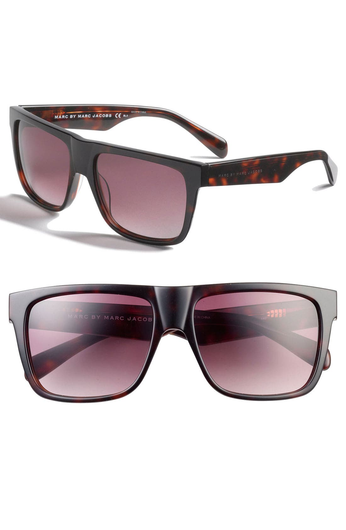Main Image - MARC BY MARC JACOBS 56mm Polarized Sunglasses