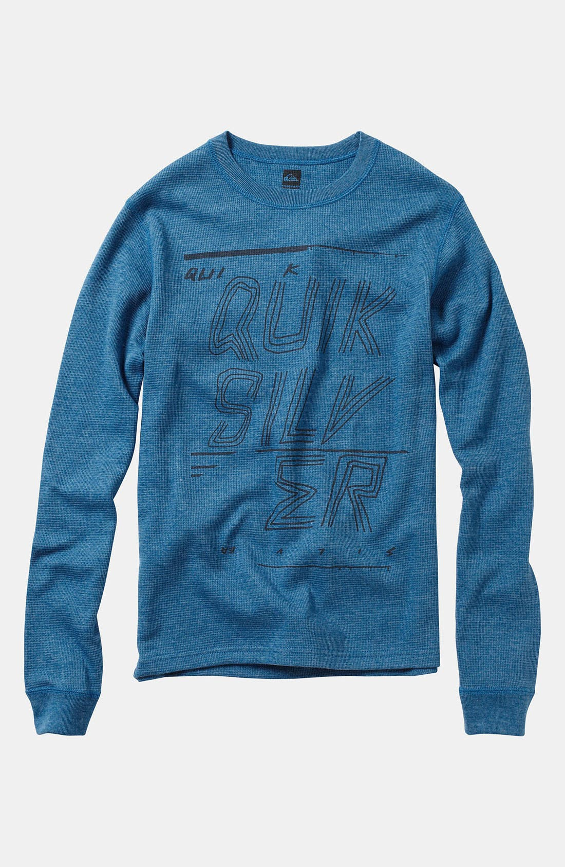 Alternate Image 1 Selected - Quiksilver 'Fast Forward' Thermal Top (Little Boys)