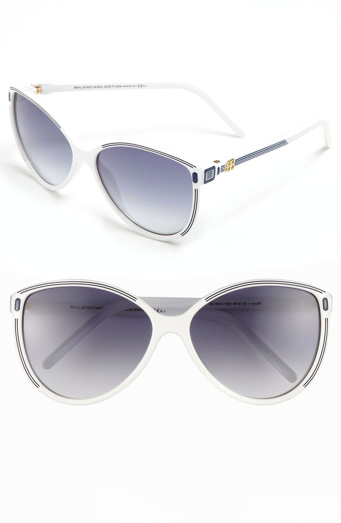 Alternate Image 1 Selected - Balenciaga Paris 60mm Sunglasses