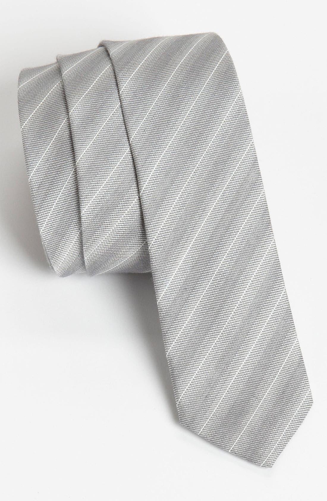 Alternate Image 1 Selected - Hugo Stripe Woven Tie