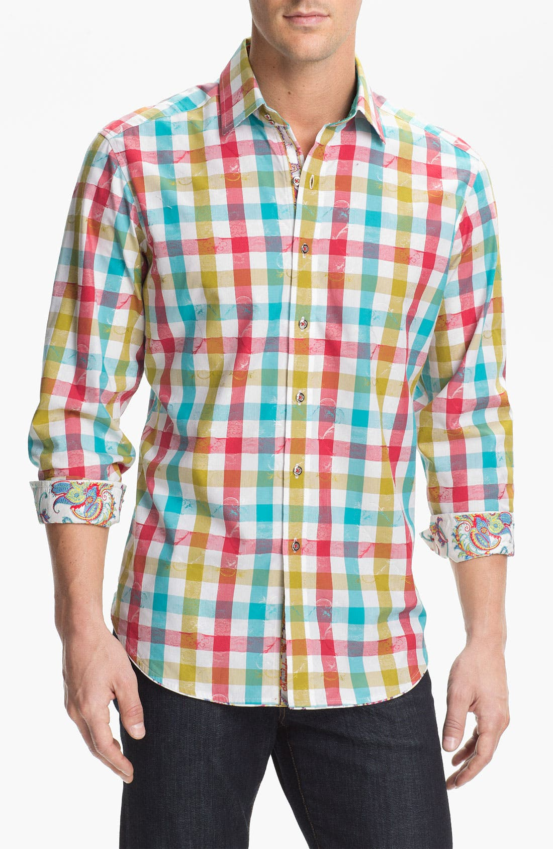 Alternate Image 1 Selected - Robert Graham 'Slide' Sport Shirt
