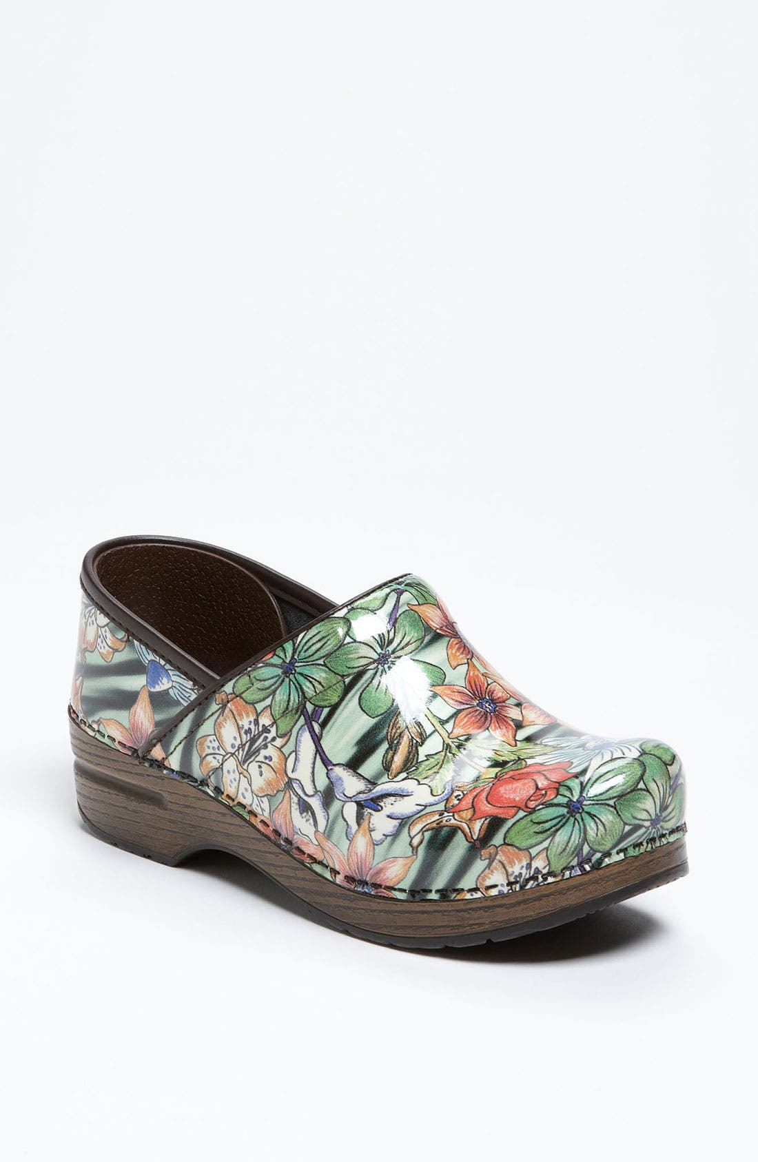 Main Image - Dansko 'Professional - Tiger Lily' Patent Clog (Limited Edition)