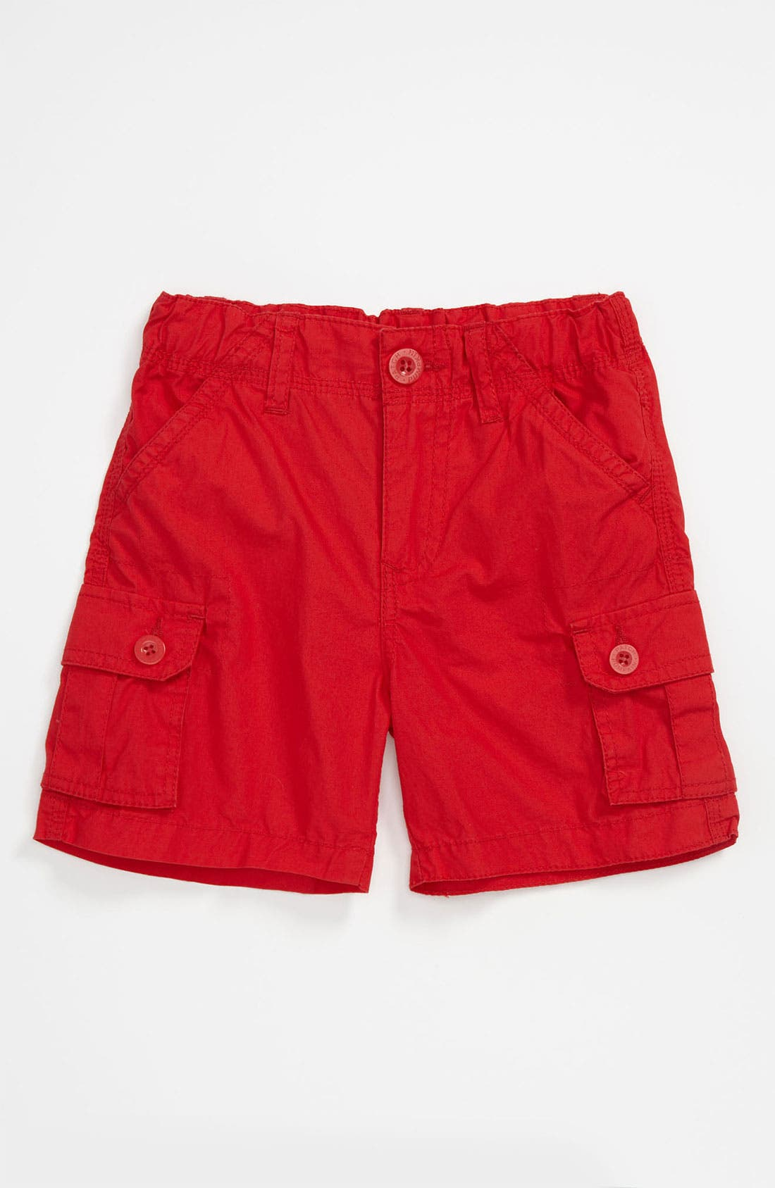 Main Image - Pumpkin Patch Poplin Shorts (Infant)