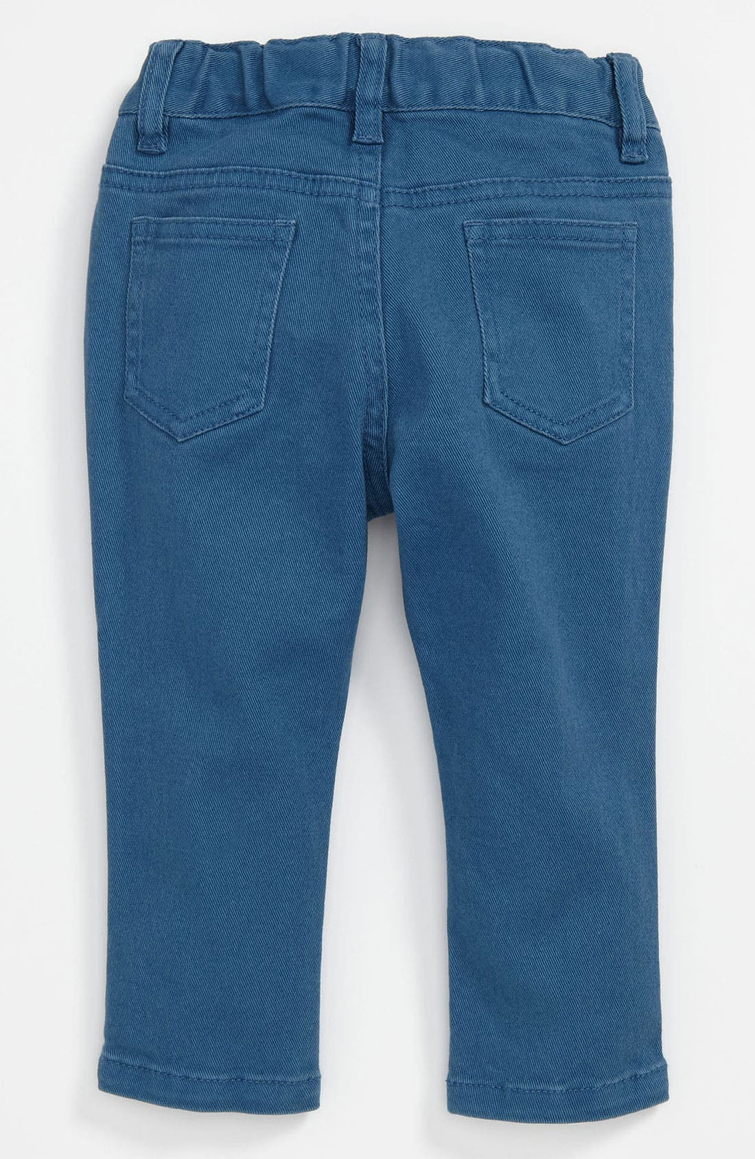 Main Image - Pumpkin Patch 'Slim Fit' Color Jeans (Toddler)