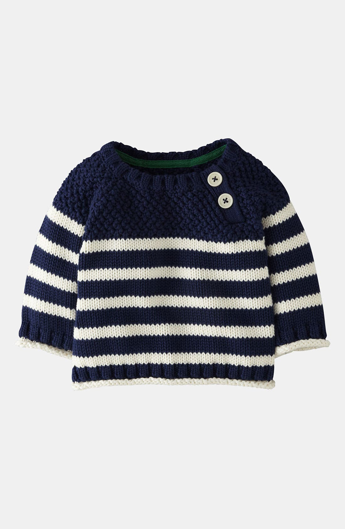 Alternate Image 1 Selected - Mini Boden Knit Sweater (Baby)
