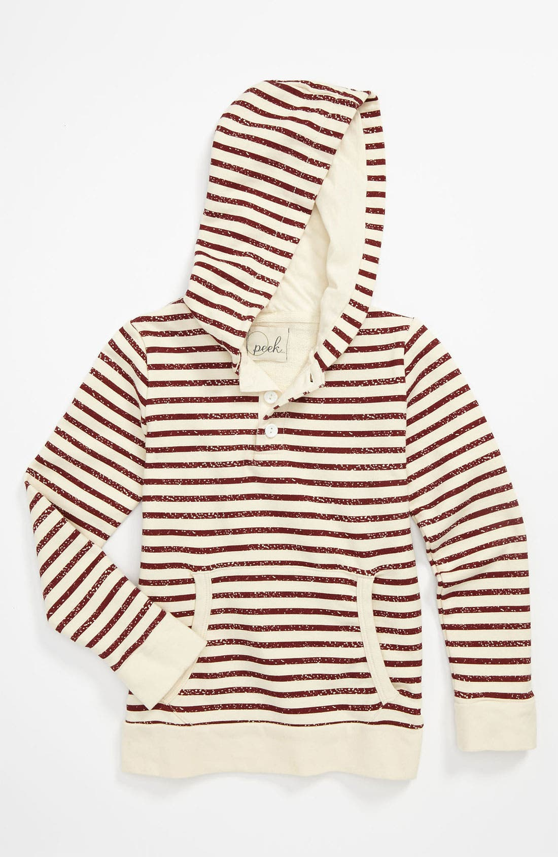 Alternate Image 1 Selected - Peek 'Ross' Hoodie (Toddler, Little Boys & Big Boys)