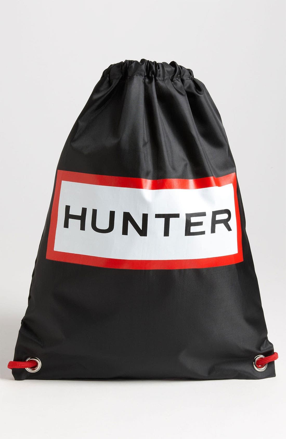 Alternate Image 3  - Hunter 'Tour' Packable Rain Boot, Fleece Welly Socks & Boot Buffer Spray