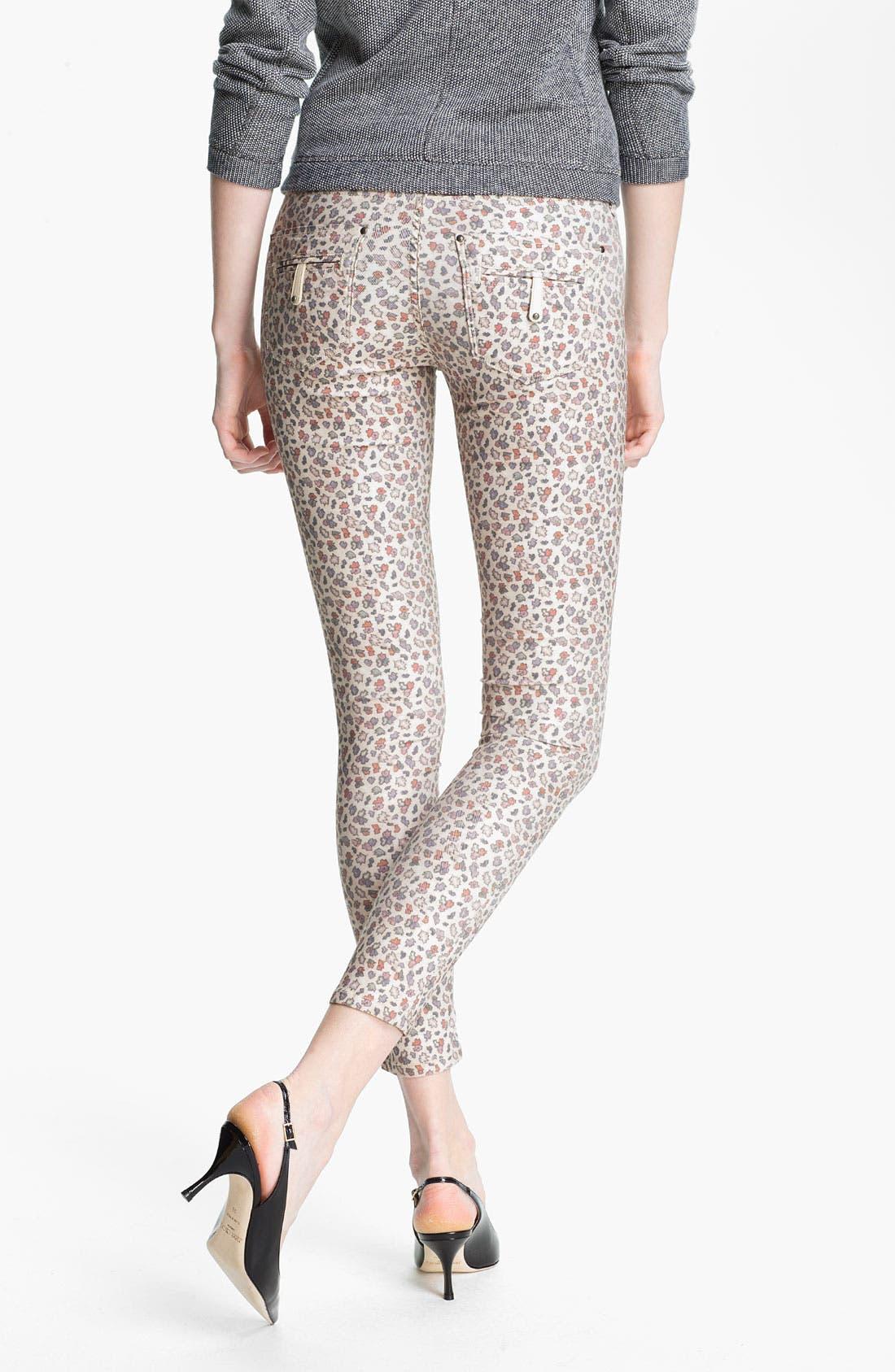 Alternate Image 2  - Twenty8Twelve 'Ashberry' Skinny Print Stretch Jeans