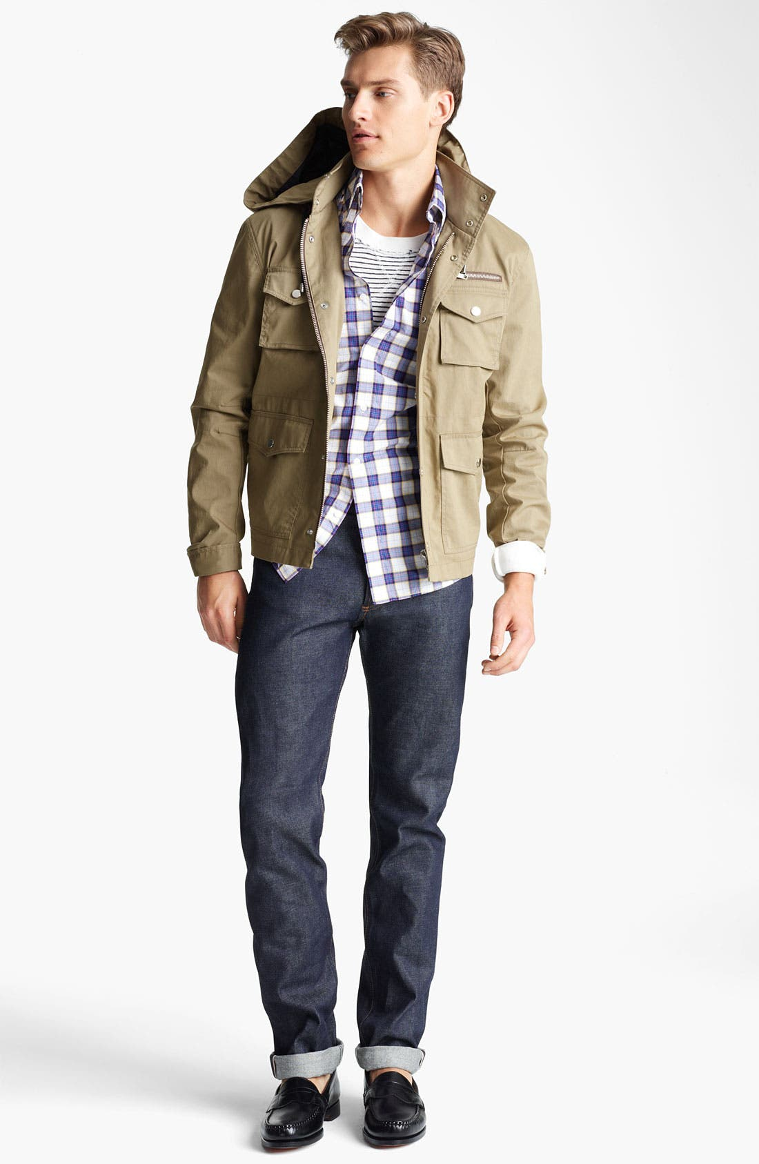 Alternate Image 4  - Michael Bastian Field Jacket