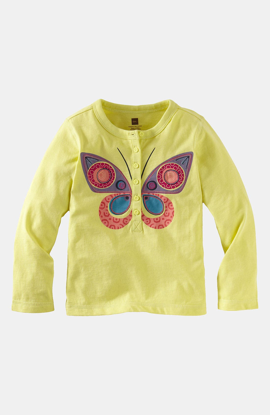 Alternate Image 1 Selected - Tea Collection 'Butterfly' Tee (Little Girls & Big Girls)